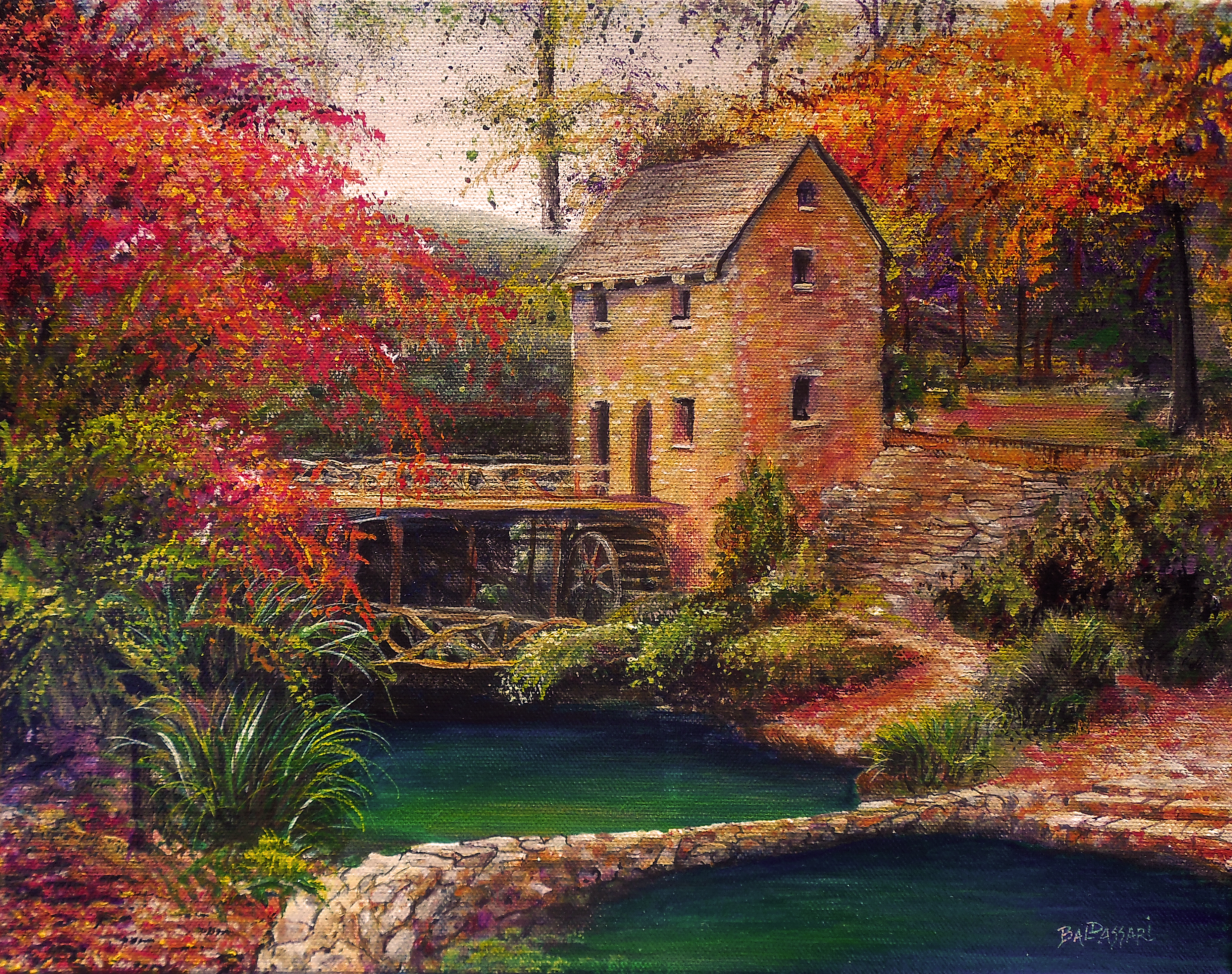 The Little Rock Mill by Scott Baldassari