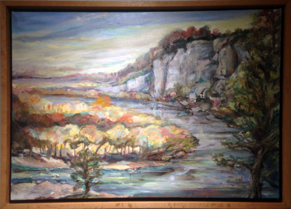 BLUFFS AT SHINEYE   by Wendel Norton